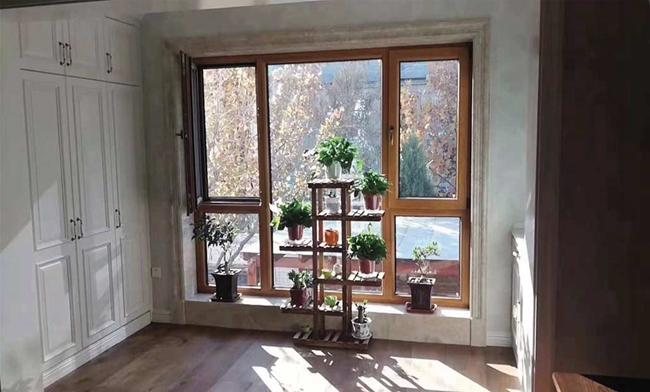 铝包木门窗系列 (4)
